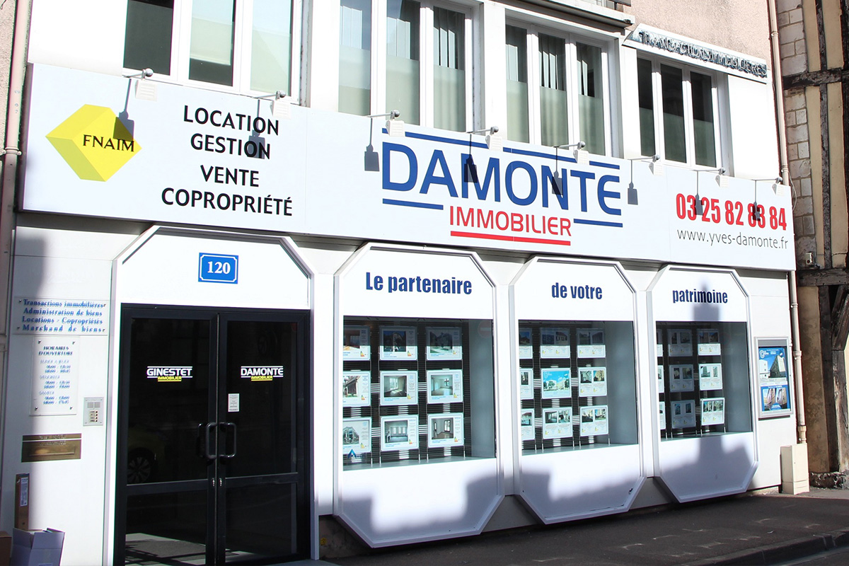 Agence damonte immobilier syndicat et gestion locative - Agence immobiliere londres location ...