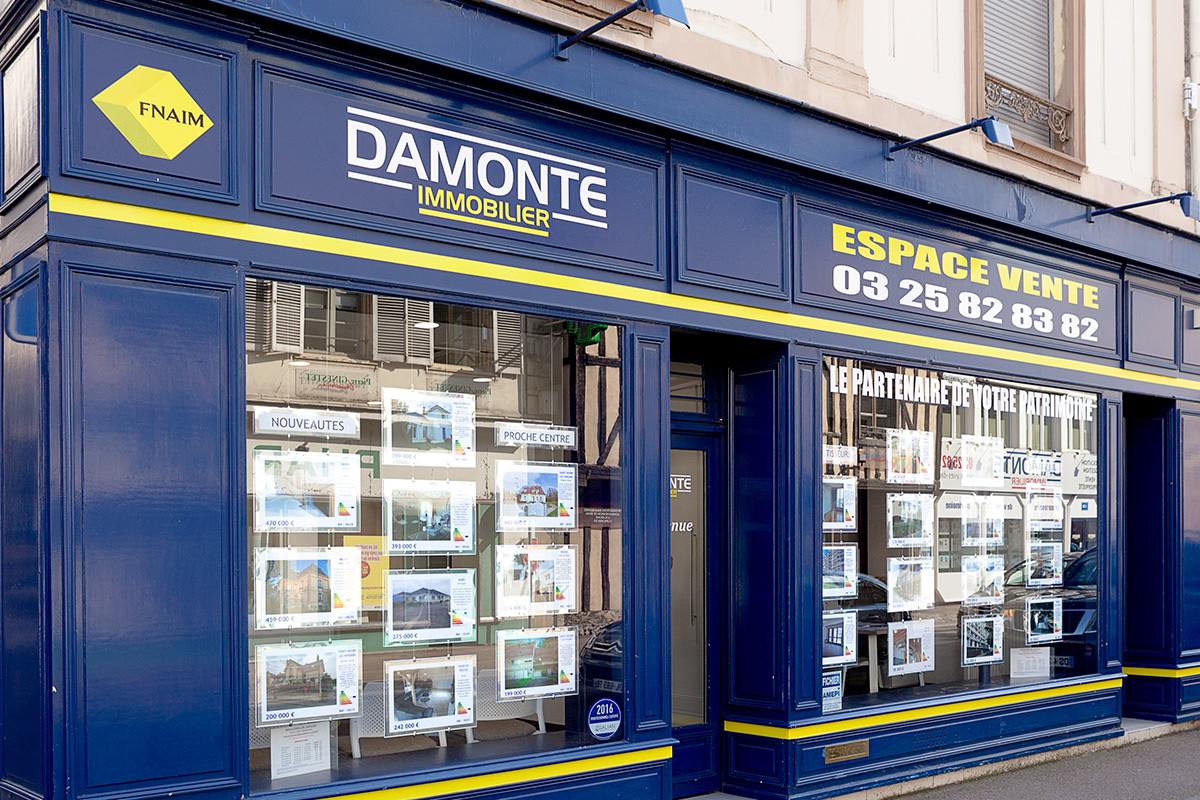 Agence damonte immobilier espace vente for Agence immo troyes